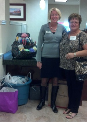 Nicole Mihelich and Joanne LeMay Collected Items for C.A.R.E.