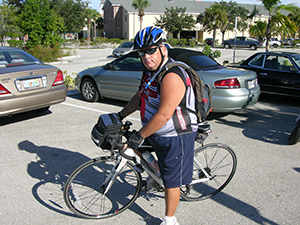 Veteran George Tice Puts Bike Ride To Tallahassee  On Hold To Be With His Ailing Wife