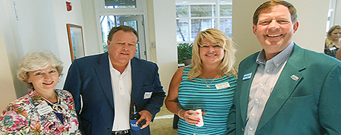 Encore Bank Hosts Master's Mixer at Their Main Naples Branch