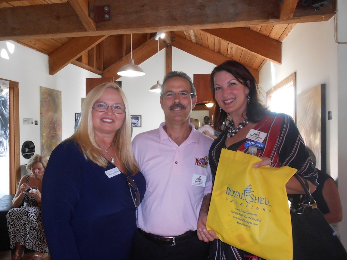 Connie Ramos-Williams, Mark Blust and Kendra Sutton