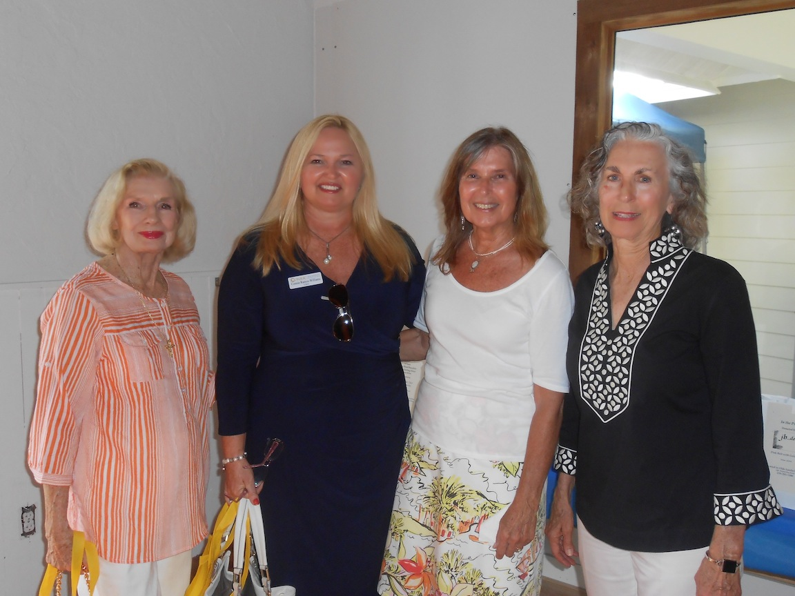 Michel Doherty, Connie Ramos-Williams, Barbara Harrington and Ruth Condit