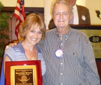 Fort Myers South Rotary Honors Gwendolyn Howard  With the 4 Way Test Award