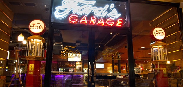 Ford S Garage Restaurant A First For The Automotive Giant