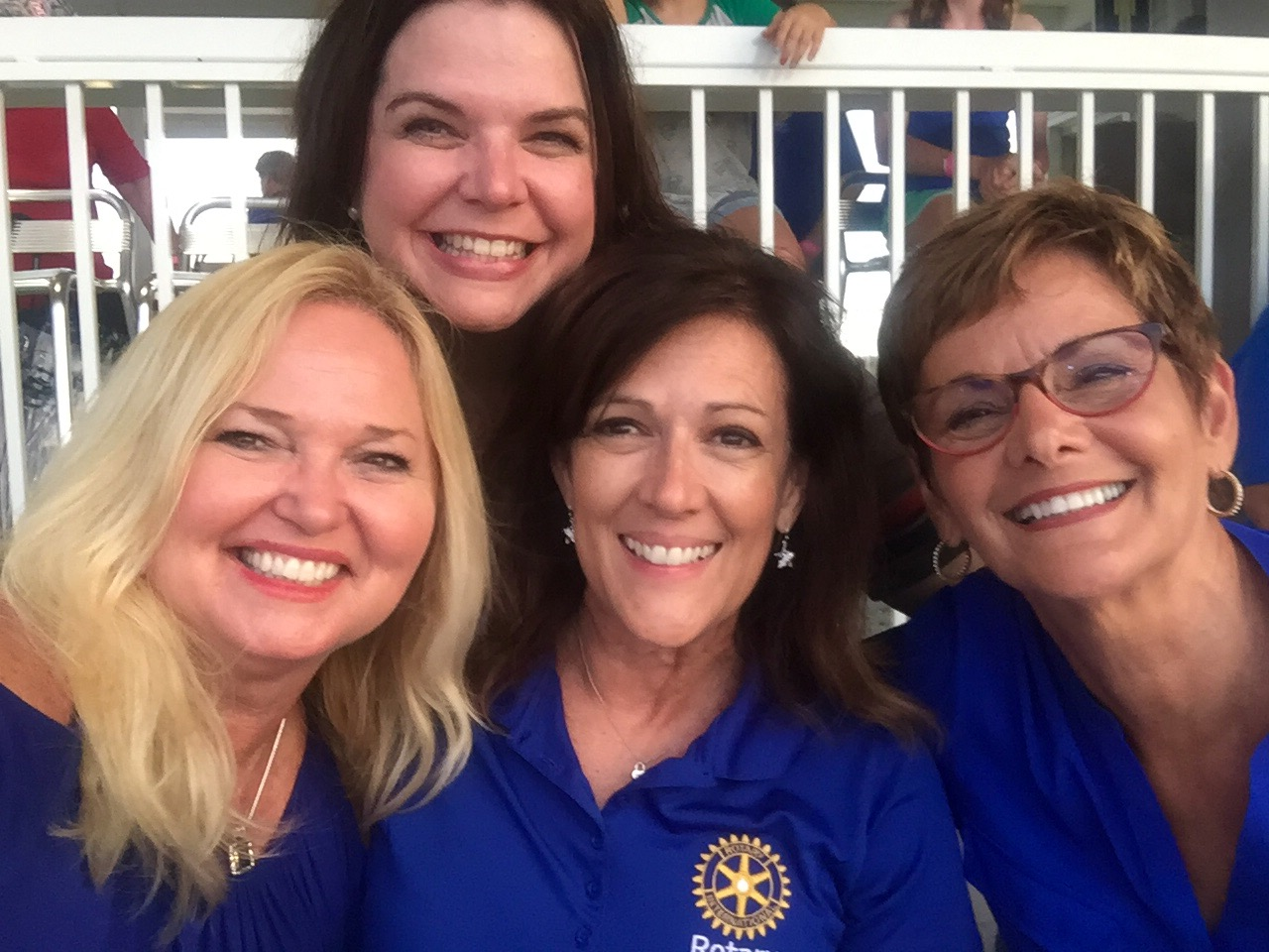 Rotary Club of Fort Myers South enjoys night at the ballpark as Tim Tebow makes his first visit to Hammond Stadium