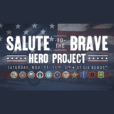 Honor our heroes at Salute to the Brave at Top Rocker Field on Nov. 11