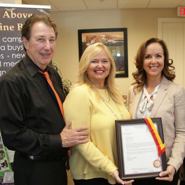 CONRIC PR & Marketing awarded The Florida Senate Medallion of Excellence