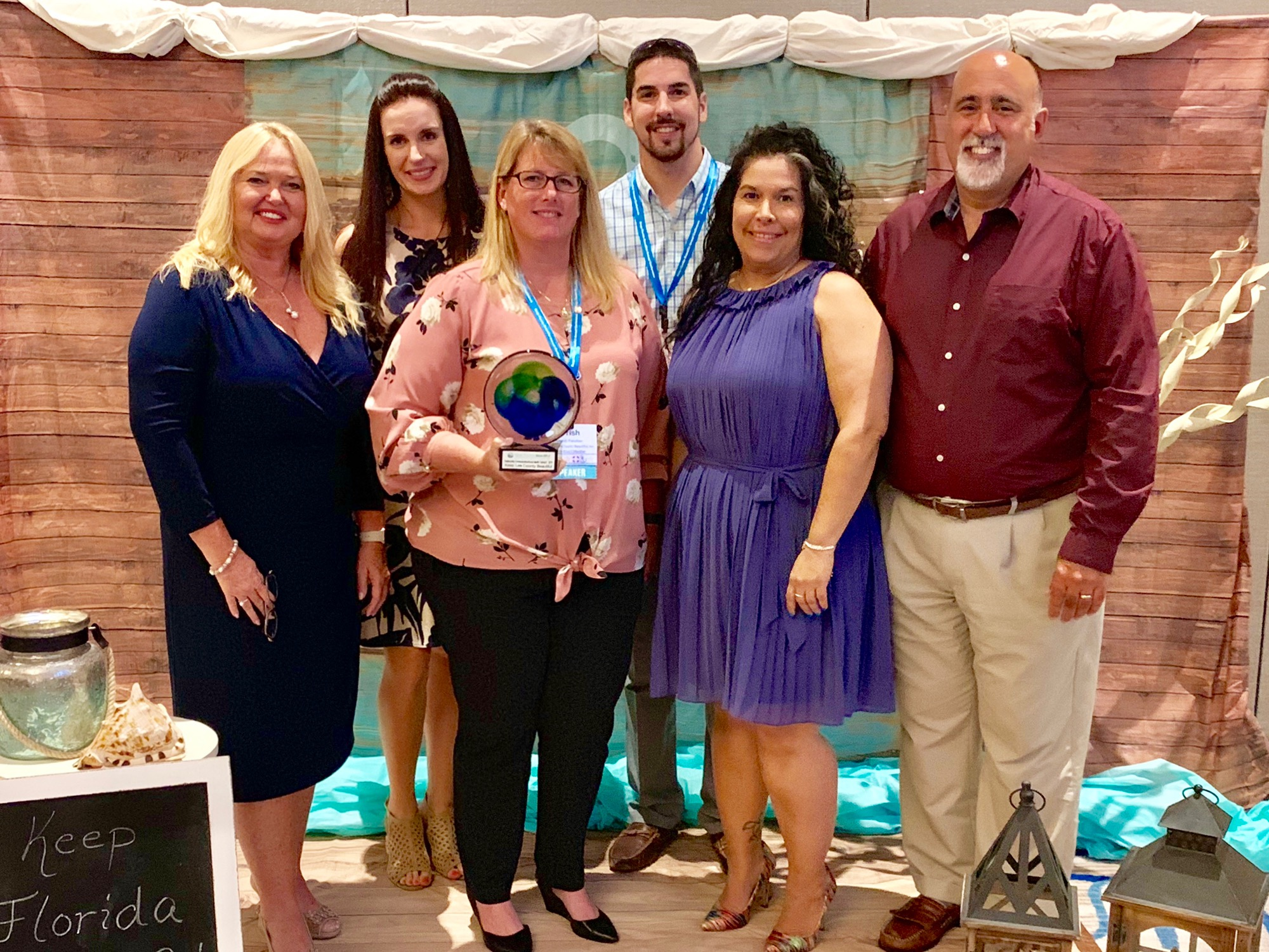 Keep Lee County Beautiful receives statewide recognition