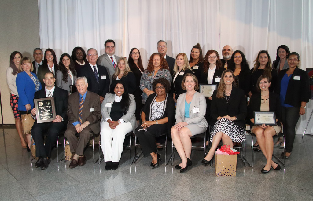 25 attorneys honored at Lee County Bar Association Pro Bono luncheon