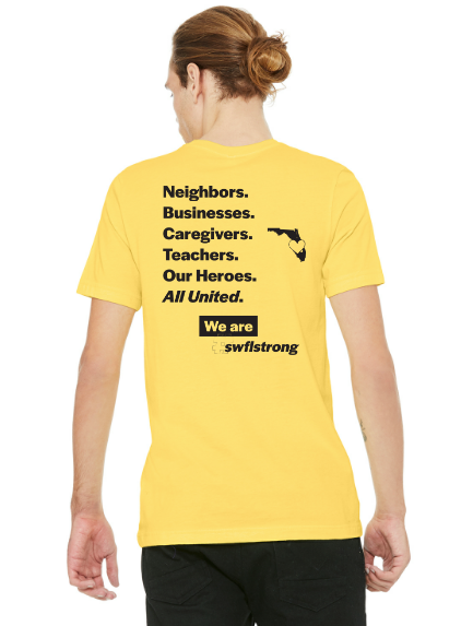 WearTheFund launches SWFL Strong t-shirt campaign to benefit Southwest Florida Emergency Relief Fund