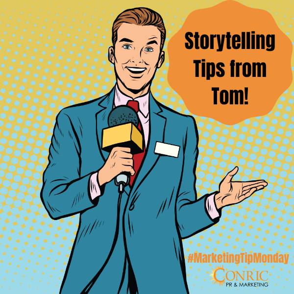 Storytelling Tips from Tom