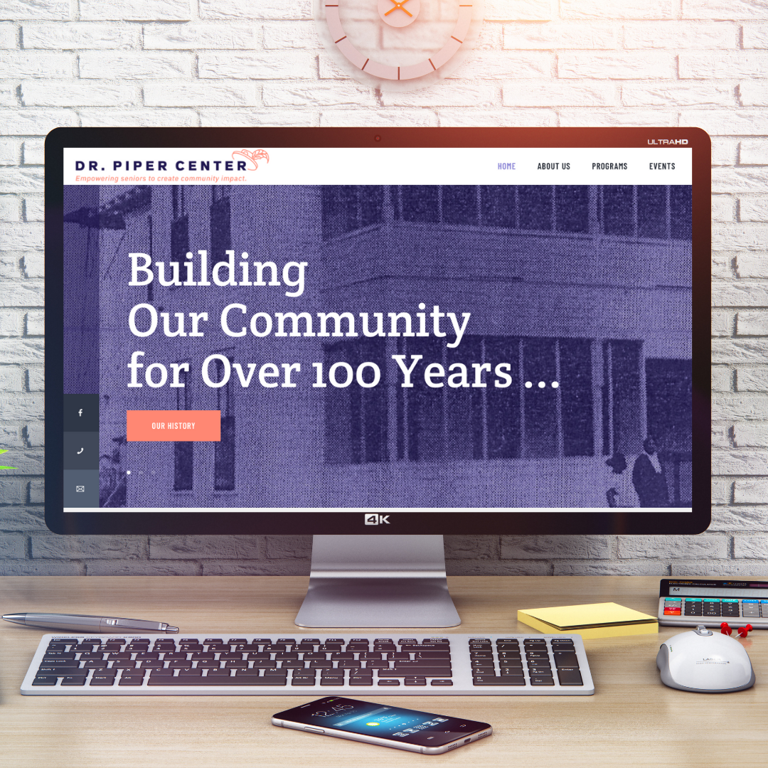 Dr. Piper Center unveils new website and brand identity
