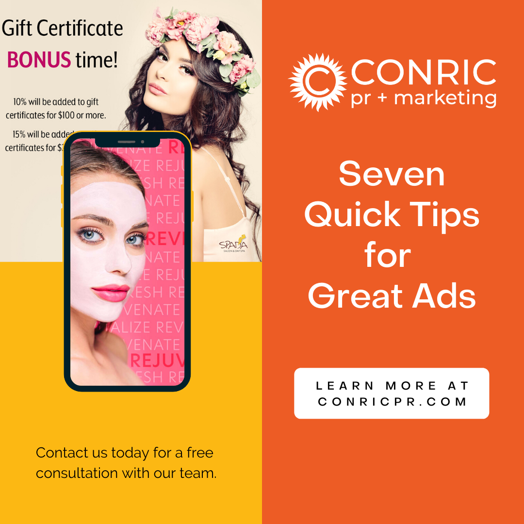 7 Quick Tips for Great Ads