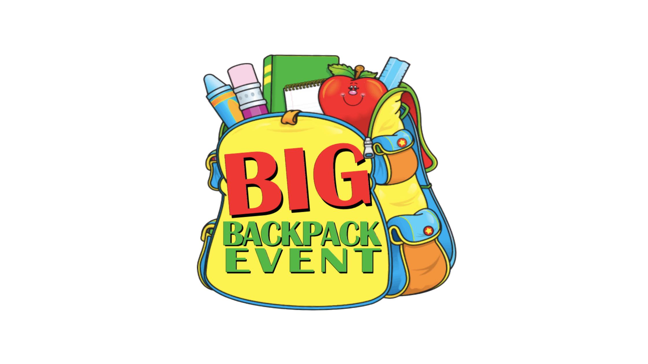 Popular Big Backpack Event returns to the Skatium on July 25, 2021